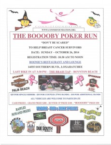 The Booooby Poker Run