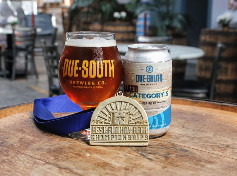 Oaked Category 5 IPA gold medal