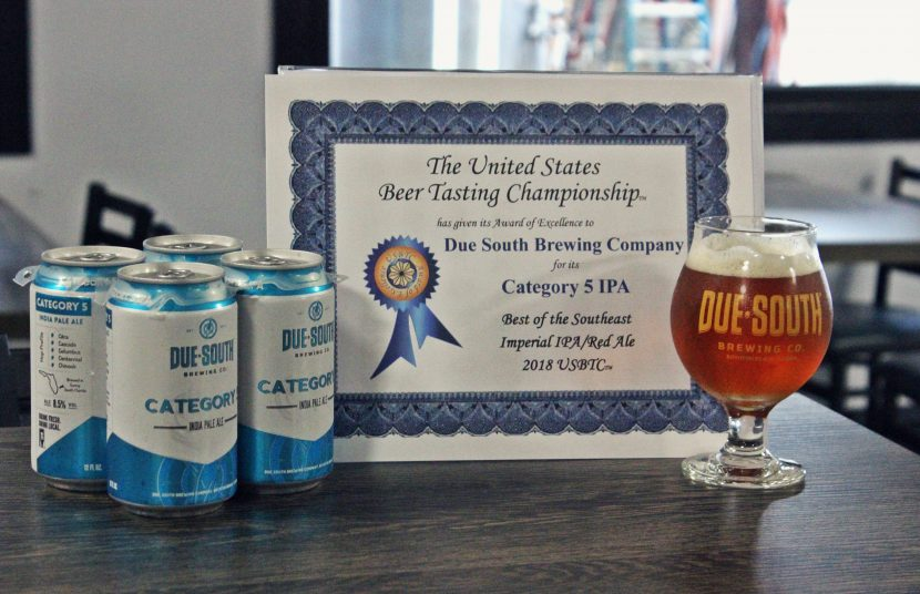 Category 5 IPA Wins Best Imperial IPA In The Southeast – Due